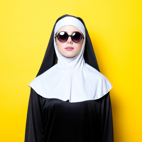yellow-nun
